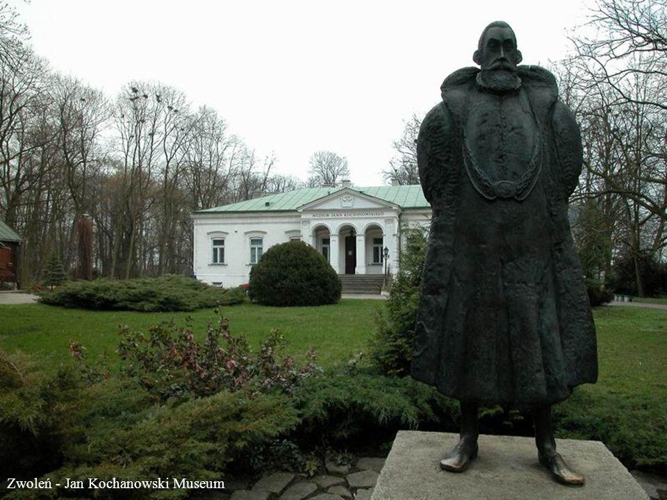 Wyszków - Monument Cyprian Norwid