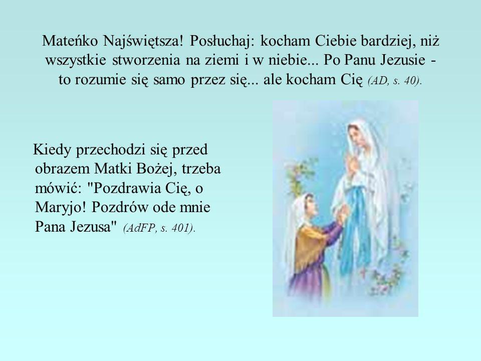 Niech Maryja będzie Gwiazdą, która oświetli ci ścieżkę i wskaże bezpieczną drogę, aby dojść do Ojca w niebie.
