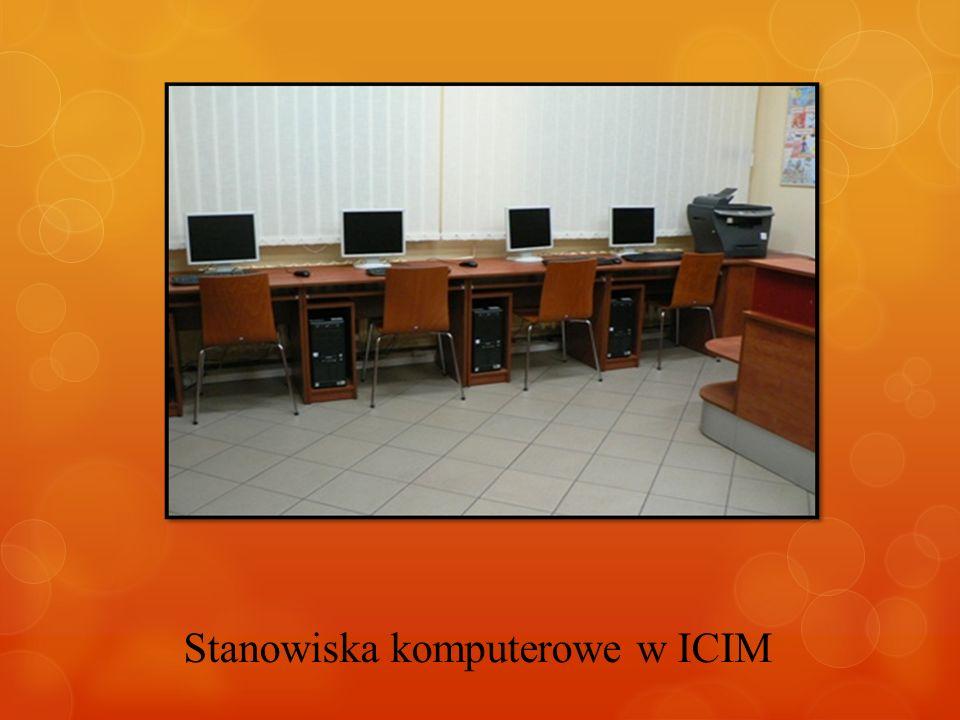 Stanowiska komputerowe w ICIM