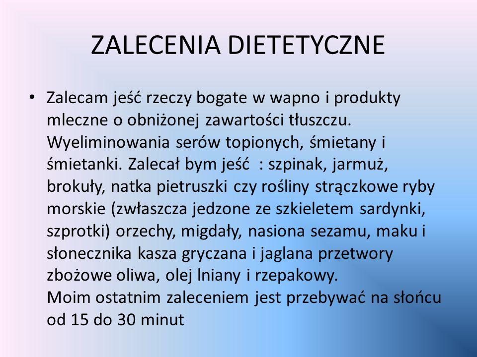 OBLICZENIA BMI 1,70x1,70:62=21.5 Waga pacjentki jest prawidłowa, zalecał bym zdrowe odżywianie przez ustalone przez dietetyka specjalna dietę oraz zmn