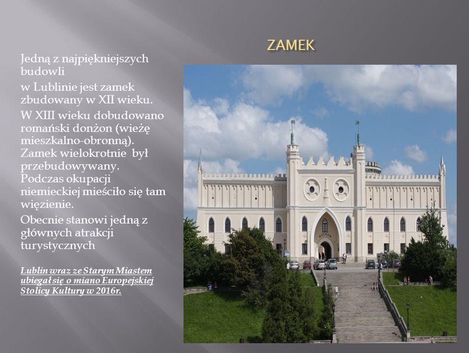 Lublin ma piękną starówkę. Jest to najstarsza, historyczna dzielnica miasta. Do najważniejszych zabytków należą: Brama Krakowska, Brama Grodzka, Baszt