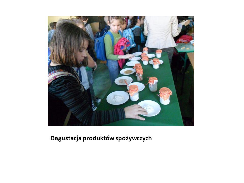 Degustacja produktów spożywczych