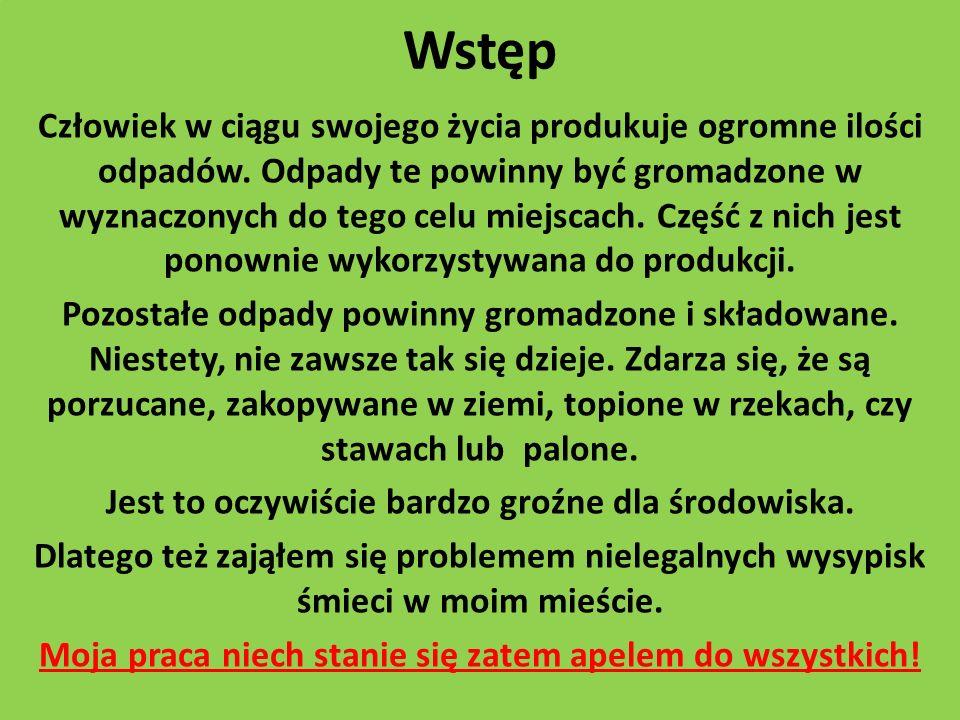 Aktualne informacje Według danych ekspertów w Polsce tylko 50% mieszkańców korzysta z usług firm wywożących odpady.