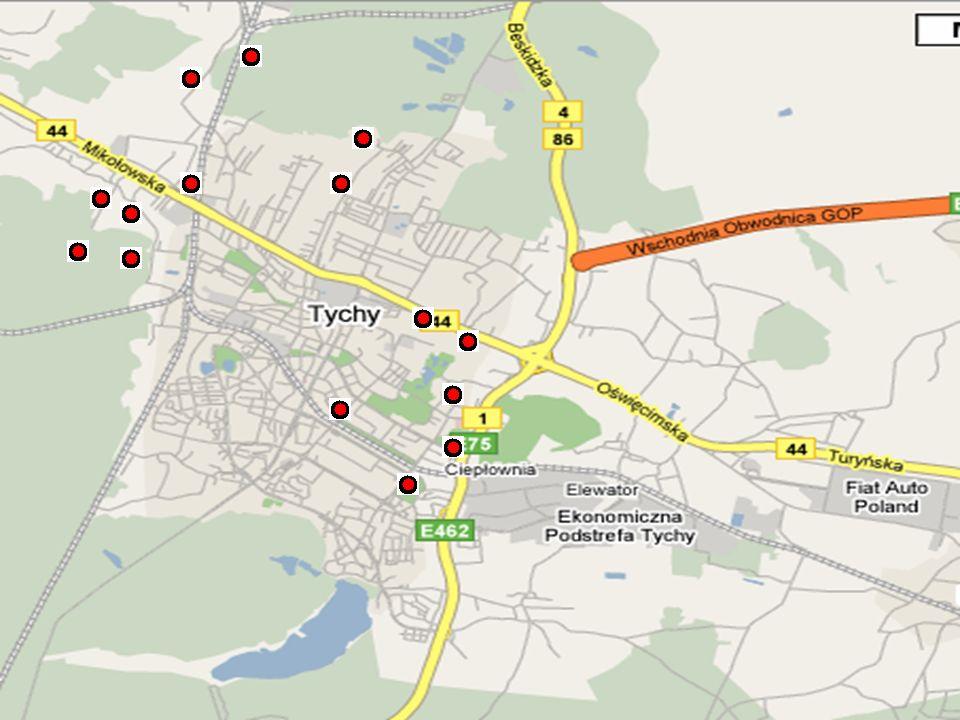 2 Obszar: powyżej 3m Lokalizacja: przy lesie i szosie Przypuszczalne źródło: gospodarstwo