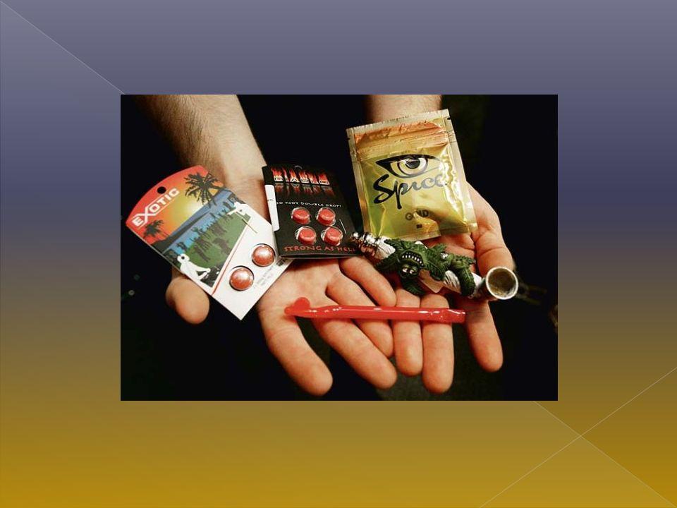 Środki tego rodzaju są produkowane głównie po to, aby ominąć obowiązujące zakazy antynarkotykowe, stąd ich skład chemiczny ulega ciągłej ewolucji.