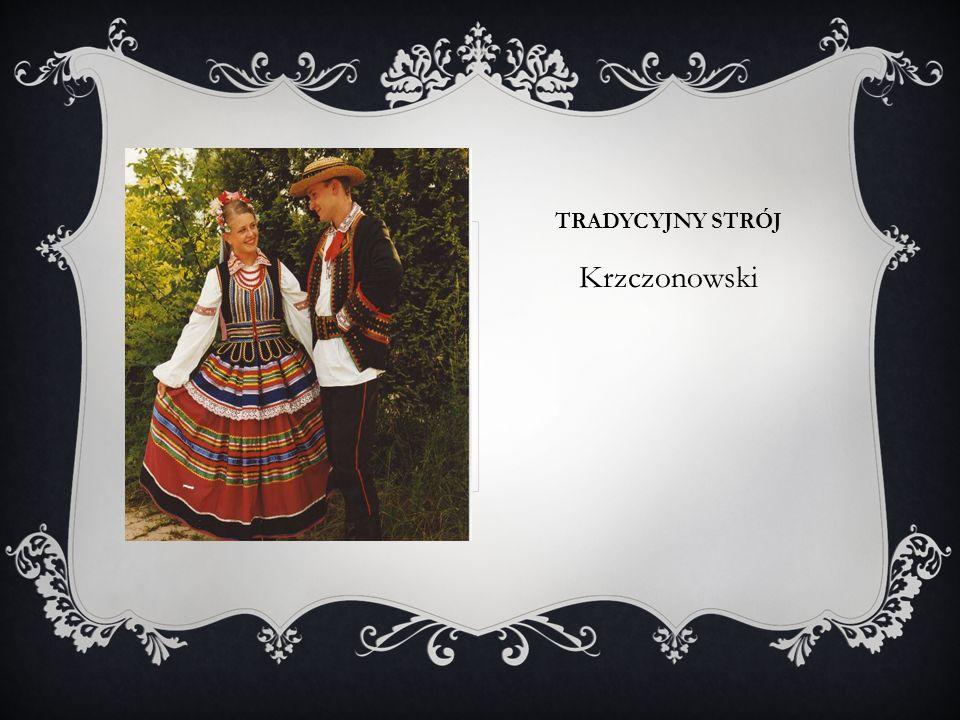 TRADYCYJNY STRÓJ Krzczonowski