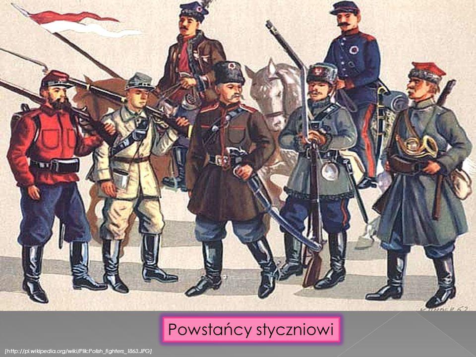 [http://pl.wikipedia.org/wiki/Plik:Polish_fighters_1863.JPG] Powstańcy styczniowi
