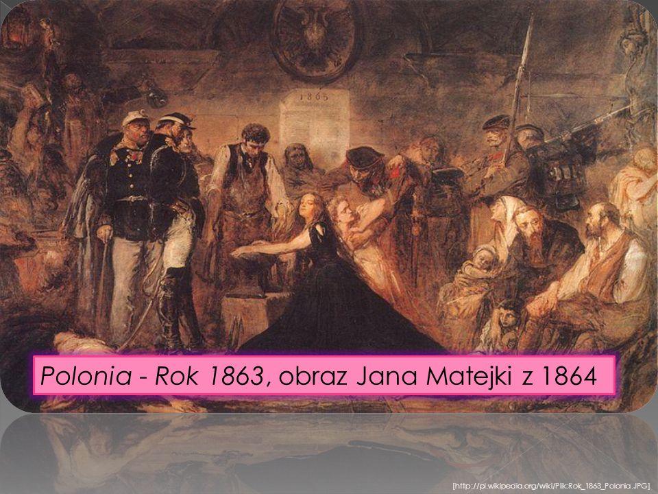 [http://pl.wikipedia.org/wiki/Plik:Rok_1863_Polonia.JPG] Polonia - Rok 1863, obraz Jana Matejki z 1864
