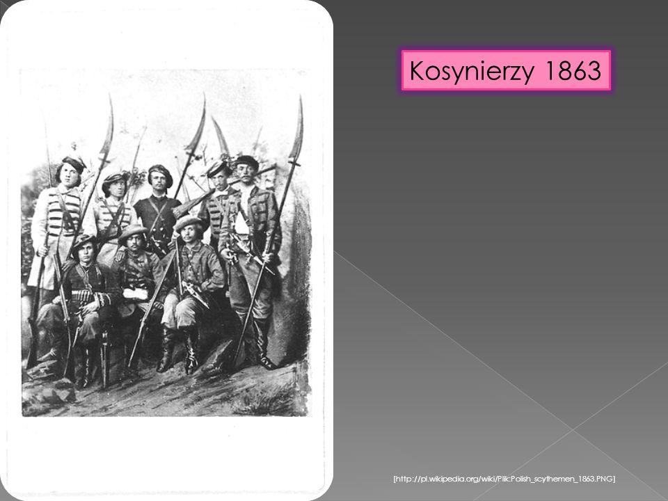 [http://pl.wikipedia.org/wiki/Plik:Polish_scythemen_1863.PNG] Kosynierzy 1863