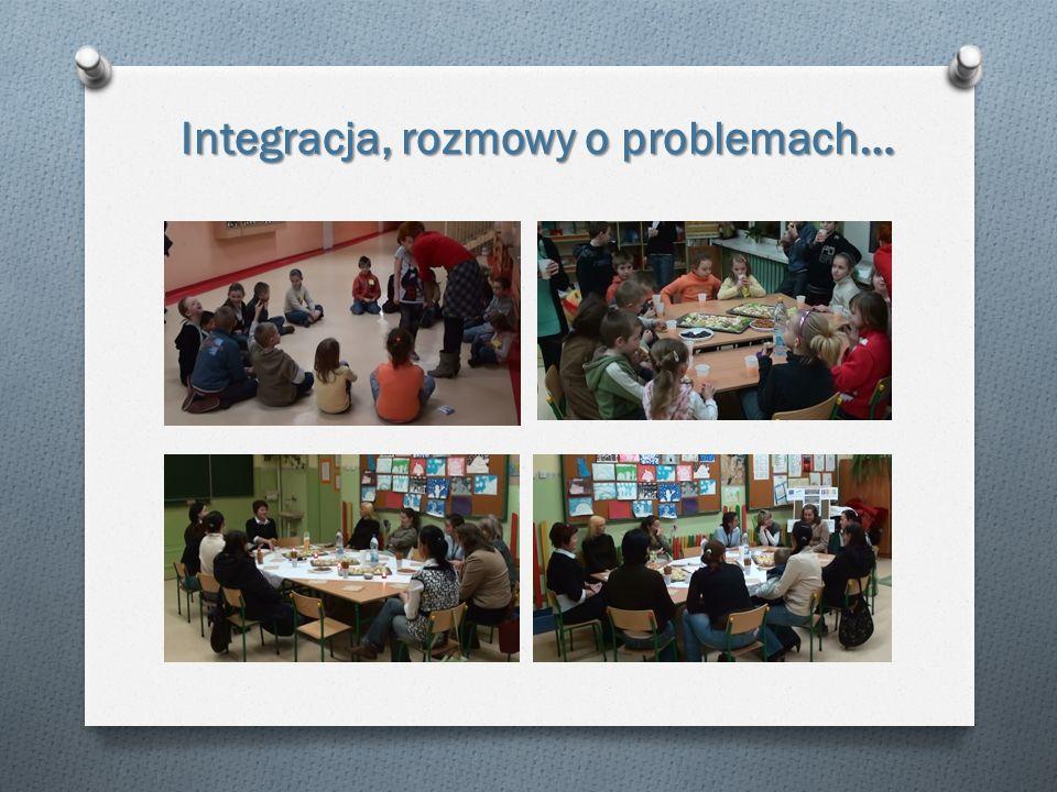 Integracja, rozmowy o problemach …