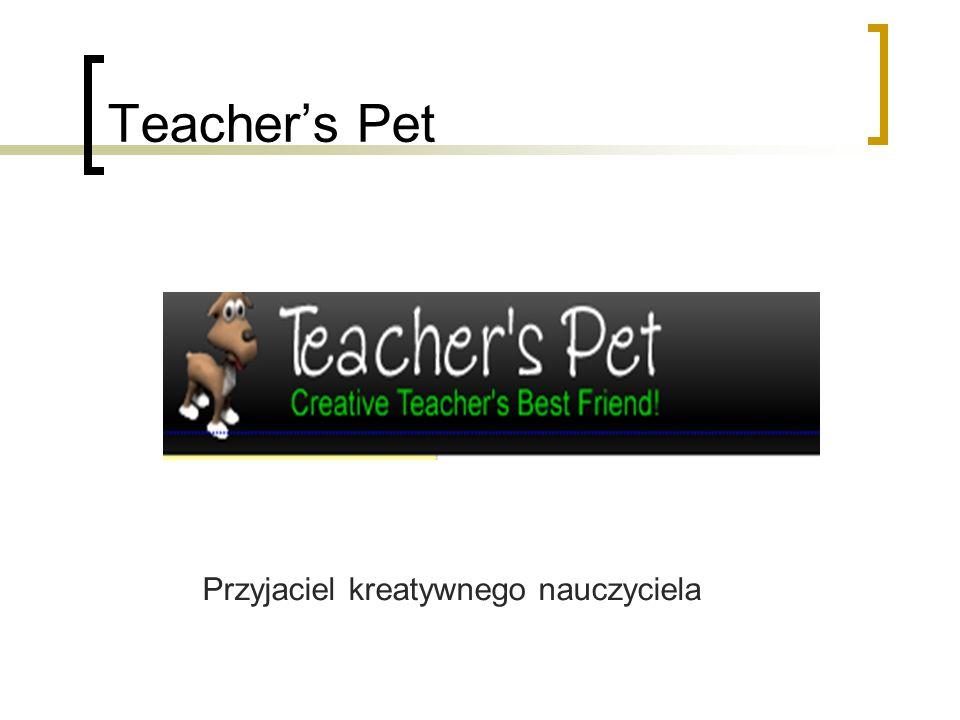Teachers Pet Przyjaciel kreatywnego nauczyciela