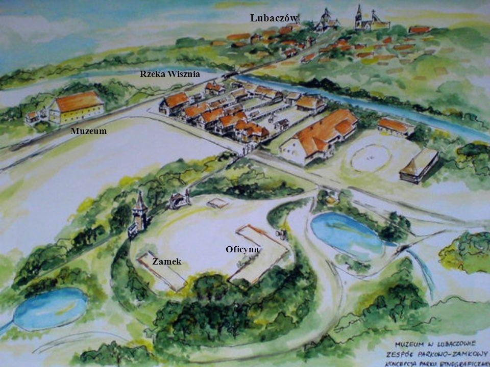 Muzeum Lubaczów Oficyna Zamek Rzeka Wisznia