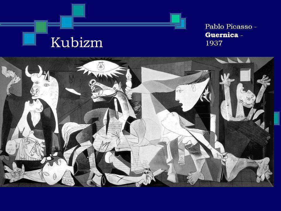 Kubizm Pablo Picasso - Guernica - 1937