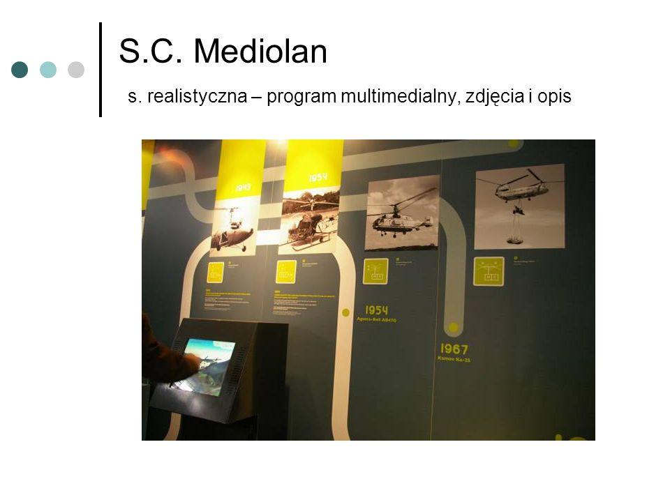 S.C. Mediolan s. realistyczna – program multimedialny, zdjęcia i opis