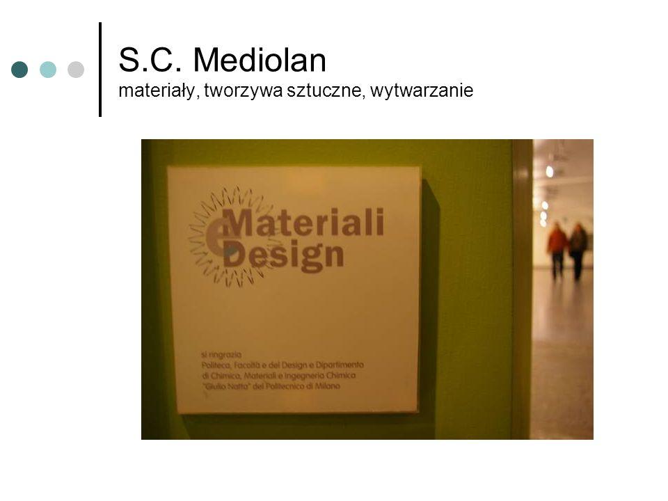 S.C. Mediolan materiały, tworzywa sztuczne, wytwarzanie