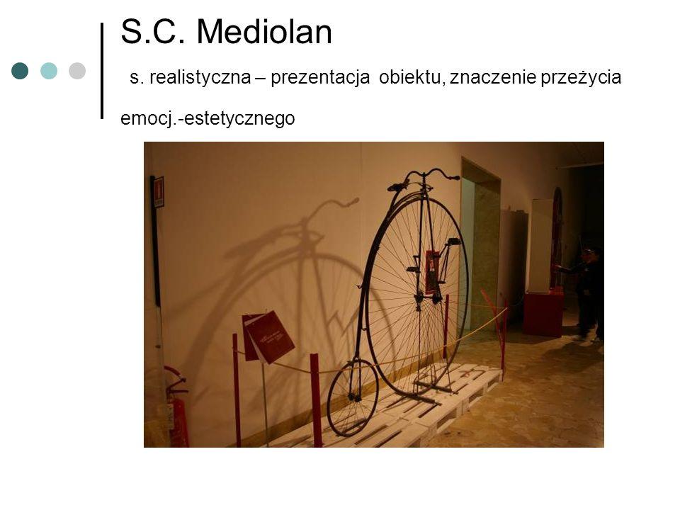 S.C. Mediolan s. realistyczna – prezentacja obiektu, znaczenie przeżycia emocj.-estetycznego