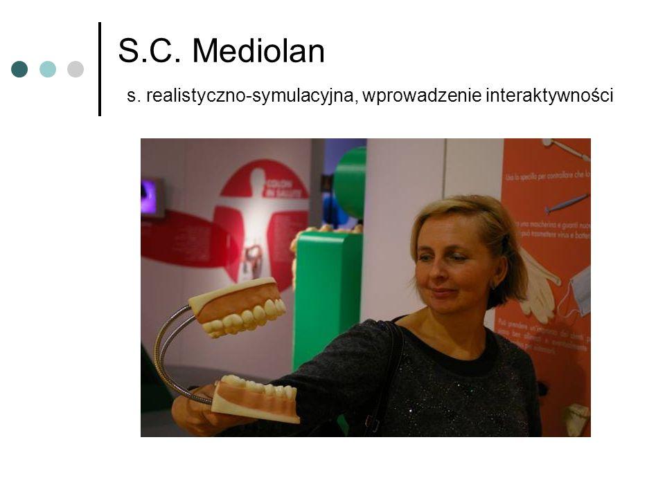 S.C. Mediolan s. realistyczno-symulacyjna, wprowadzenie interaktywności