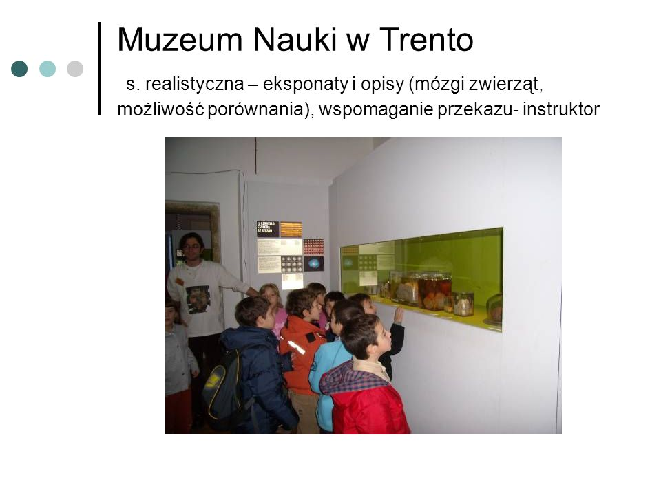 Muzeum Nauki w Trento s.