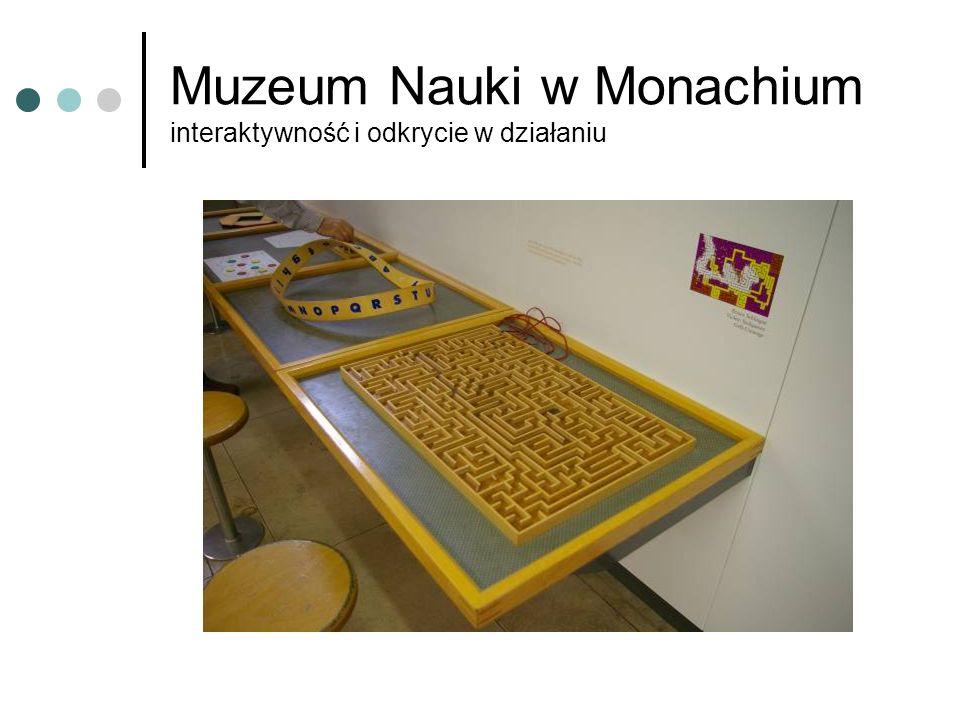 Muzeum Nauki w Monachium interaktywność i odkrycie w działaniu