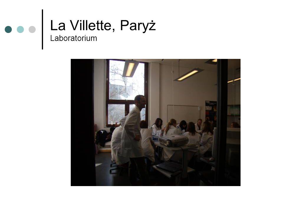 La Villette, Paryż Laboratorium