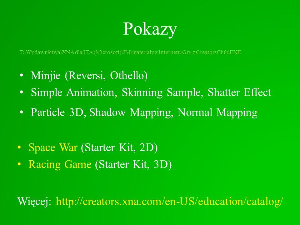 Pokazy T:\Wydawnictwa\XNA dla ITA (Microsoft)\JM\materialy z Internetu\Gry z CreatorsClub\EXE Minjie (Reversi, Othello) Simple Animation, Skinning Sam