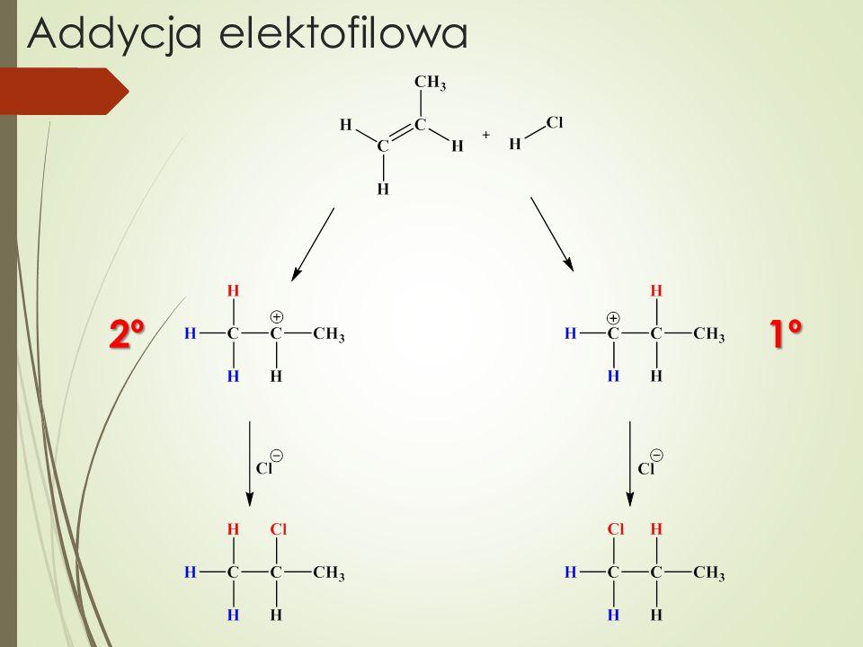 Addycja elektofilowa 1º2º