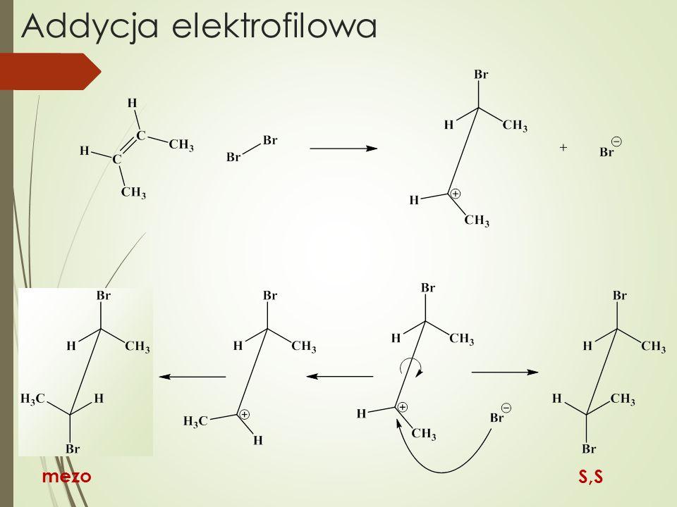 Addycja elektrofilowa S,S mezo