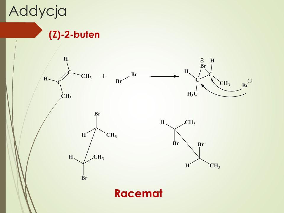 Addycja + Racemat (Z)-2-buten