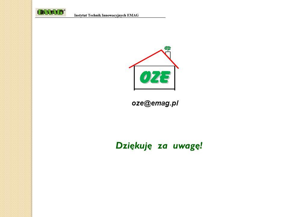 Dziękuję za uwagę! oze@emag.pl