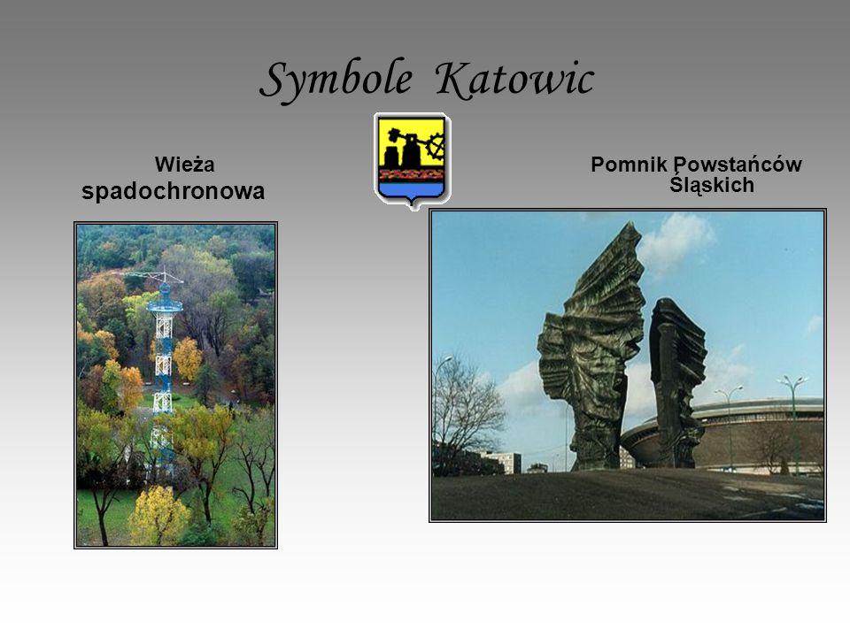 Symbole Katowic Wieża spadochronowa Pomnik Powstańców Śląskich