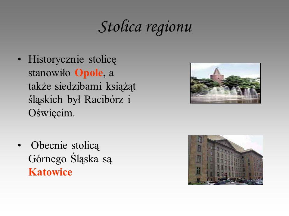 Większe miasta regionu Rybnik Średniowieczny zamek książęcy wzniesiono na przełomie XII i XIII wieku.