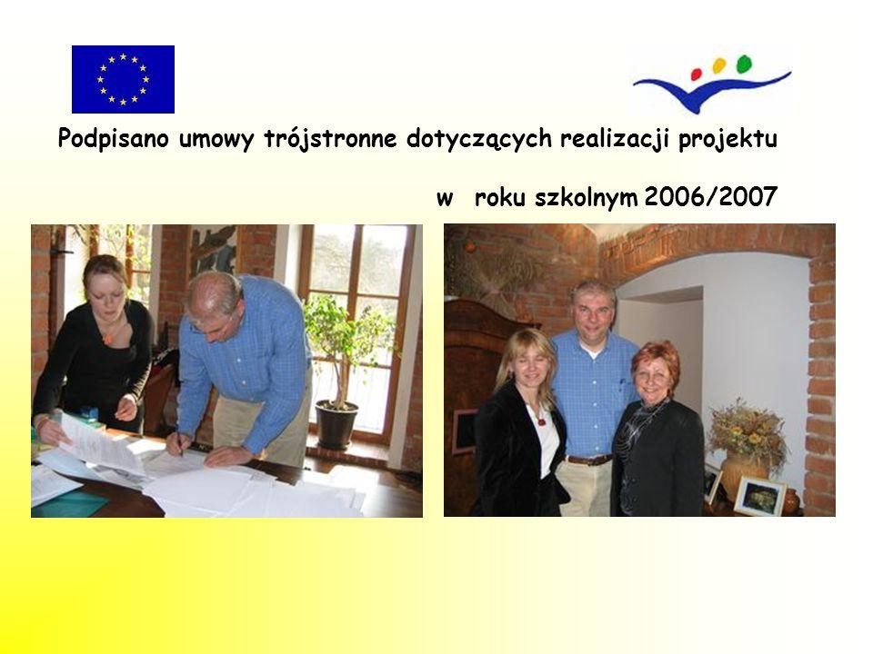 Podczas wizyty obejrzano siedzibę firmy oraz miejsca zakwaterowania beneficjentów.