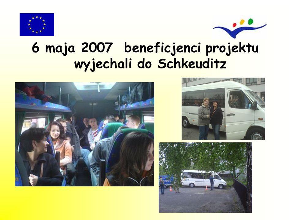 W dniach 19 – 22 maja 2007 roku odbyła się kontrola praktyki zawodowej przez koordynatora projektu.