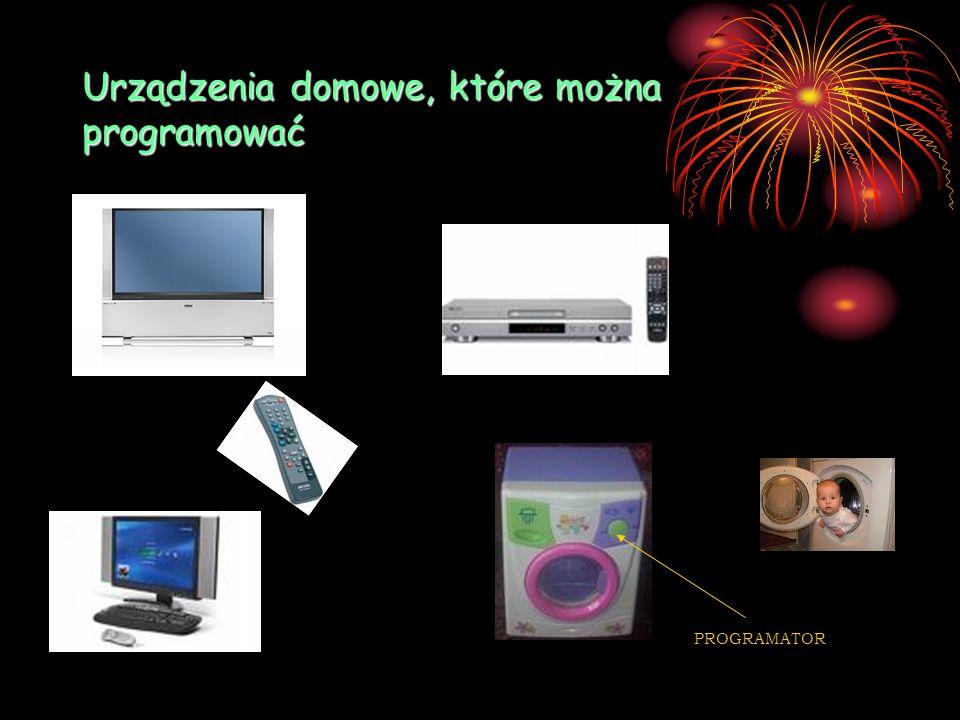 Urządzenia domowe, które można programować PROGRAMATOR
