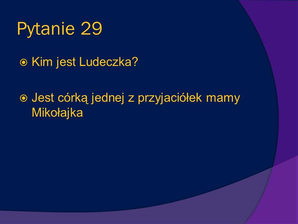 Pytanie 28 W jaki strój ubiera Mikołajka mama, kiedy chce pokazać, że jest dobrze wychowany? Ubiera go w niebieskie ubranko i białą koszulę