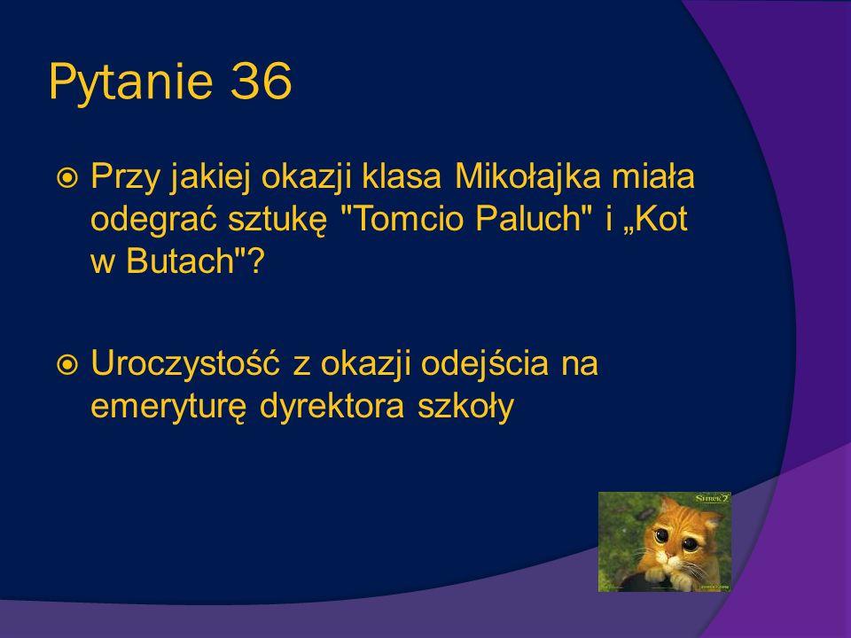 Pytanie 35 Jak zakończyła się historia, w której Alcest z Mikołajkiem palili cygaro? Chłopcy źle się poczuli, mdliło ich