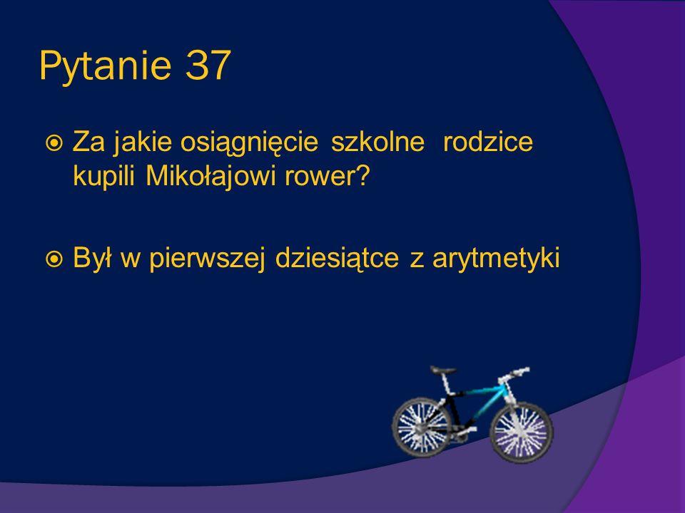 Pytanie 36 Przy jakiej okazji klasa Mikołajka miała odegrać sztukę