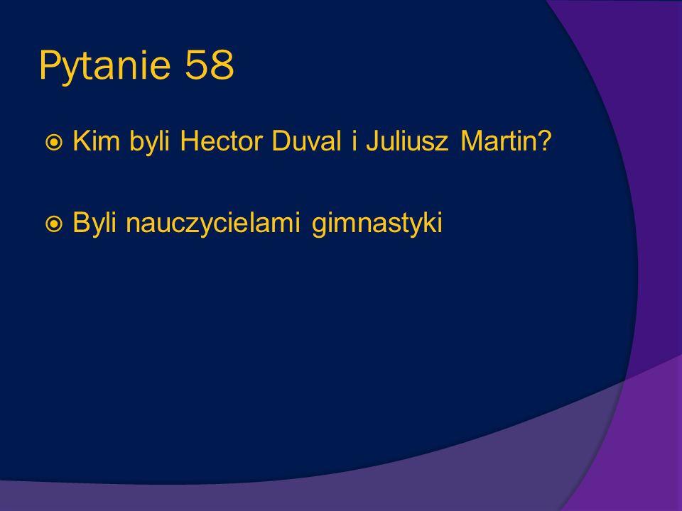 Pytanie 57 Jak nazywała się wyspa, na którą rodzina Mikołajka popłynęła z państwem Laterneau? Wyspa Mgieł