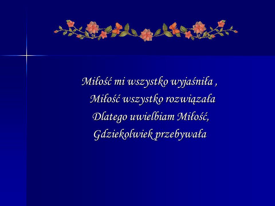 W prezentacji wykorzystano cytaty i grafikę zawartą na stronach: http://www.cytaty.info/janpaweliikarolwojtylahttp://gifybynata.bloog.pl/?id=2878511&ticaid=65c1e http://www.hospicja.pl/upload/e14b139651ecfd49cdc3cc208bcce 2f1.jpg