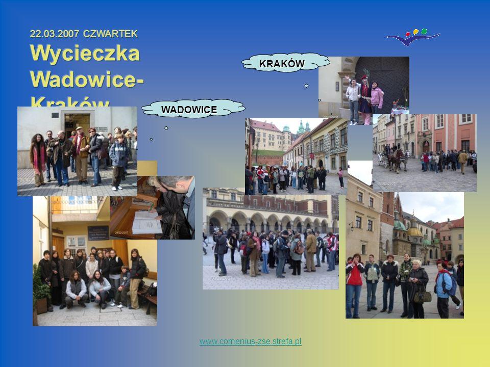 www.comenius-zse.strefa.plWADOWICE KRAKÓW