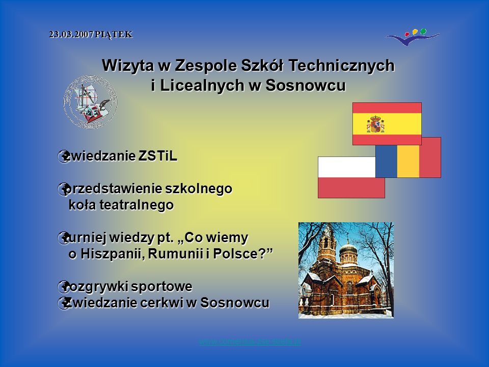 zwiedzanie ZSTiL przedstawienie szkolnego koła teatralnego turniej wiedzy pt.