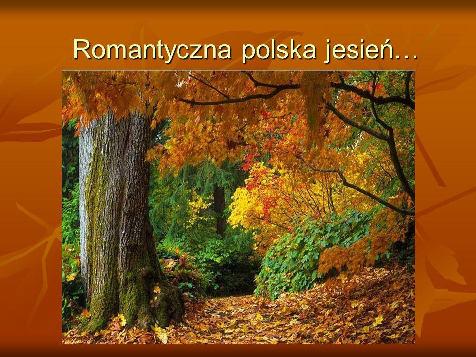 A jesienią jesteśmy inspiracją dla artystów i poetów….
