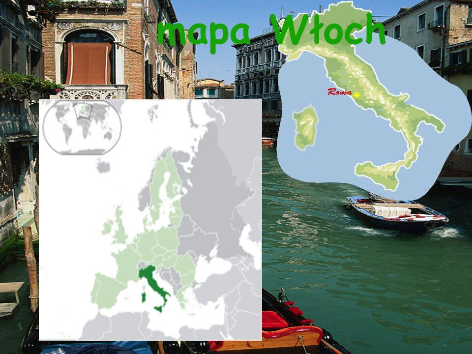 mapa Włoch