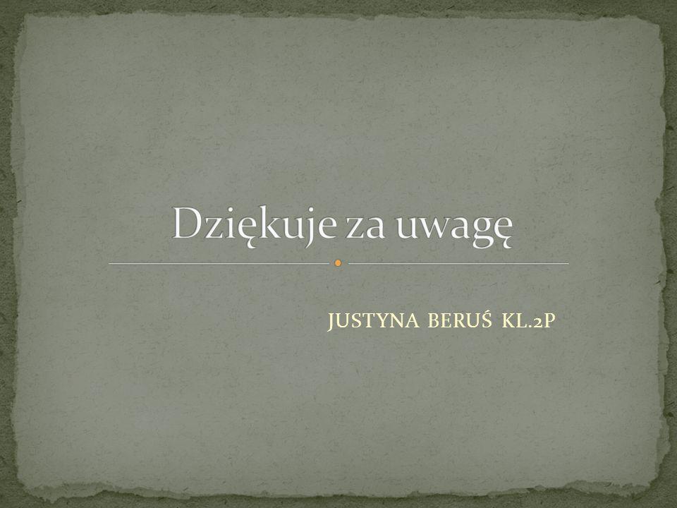 JUSTYNA BERUŚ KL.2P