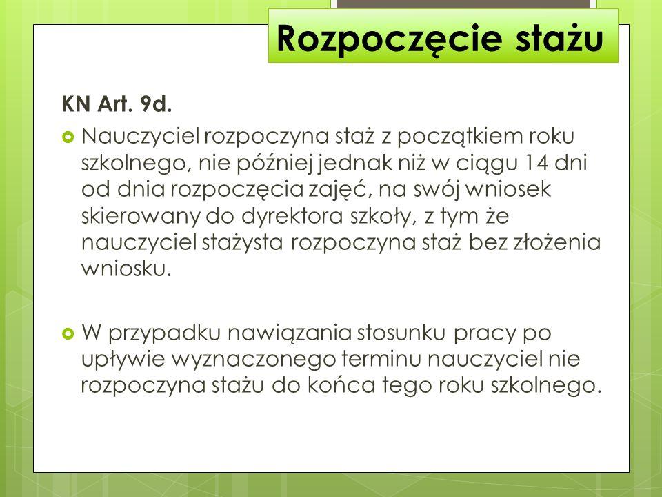 Powołanie komisji KN Art.9g. 1.