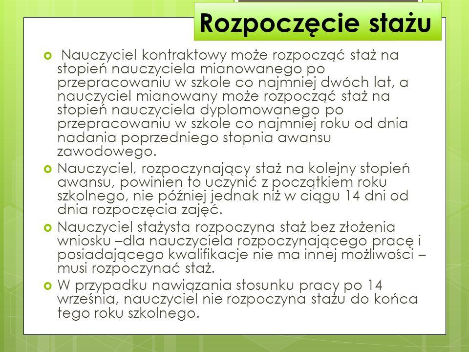 Długość stażu KN Art.9c.