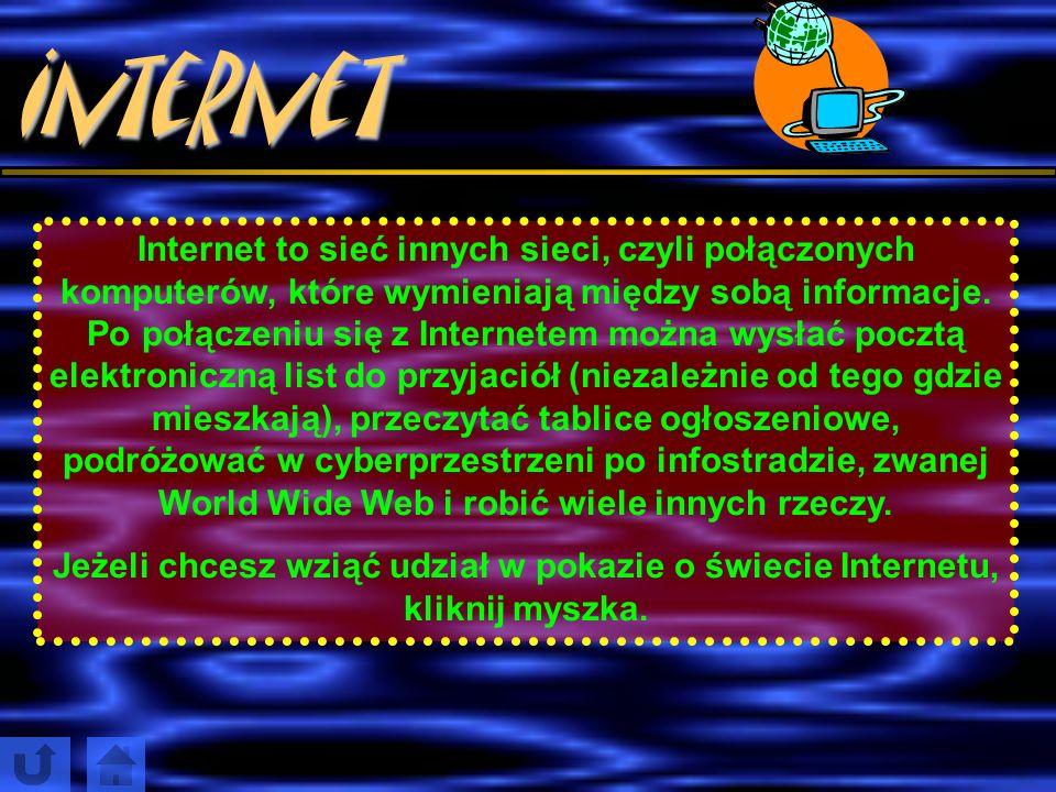 Krótka i zabawna historia informacji Słowa Książki Czasopisma Radio Telewizja Internet to nośniki informacji.