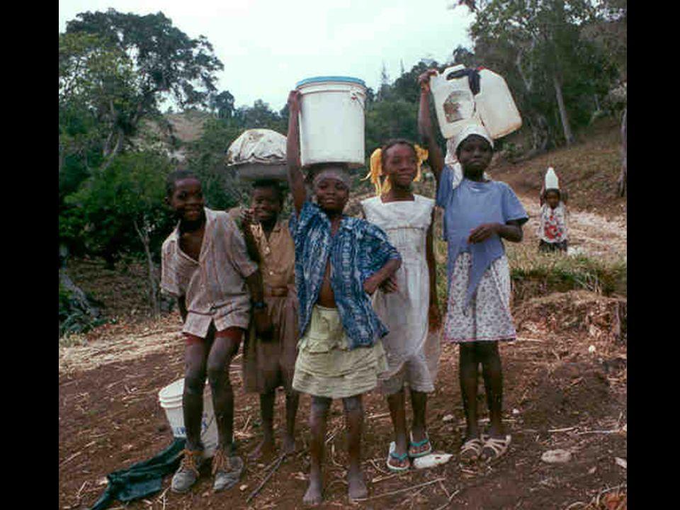 Życie tam Jest to jeden z najuboższych krajów na Świecie (najbiedniejszy na półkuli zachodniej). Życie na Haiti w 80% nie przekracza progu ubóstwa (tz