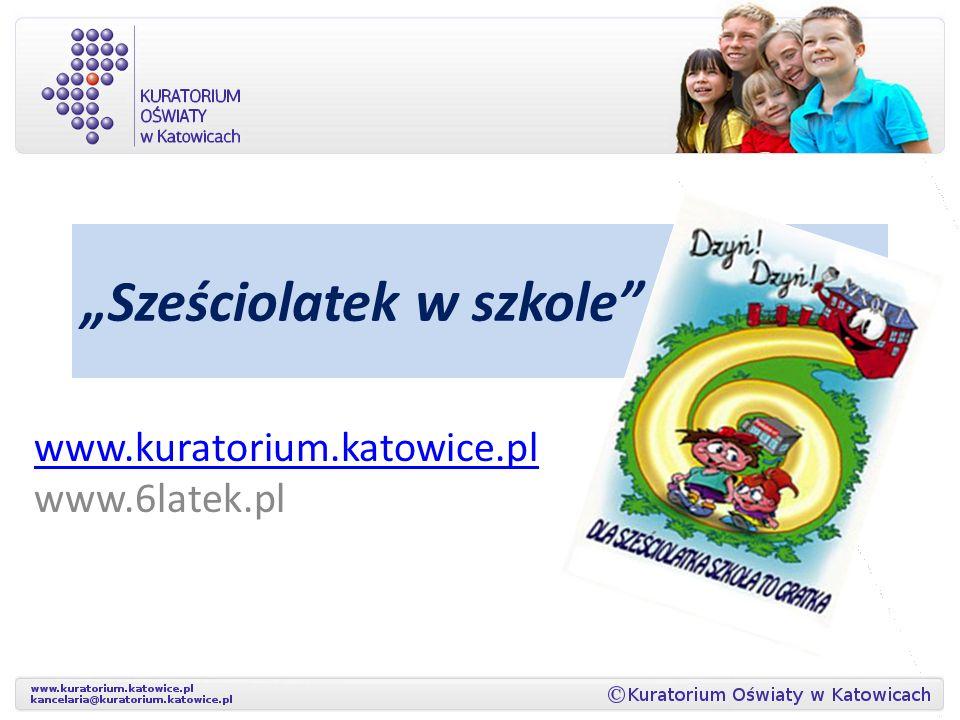 Strona internetowa dla rodziców i nauczycieli www.6latek.pl
