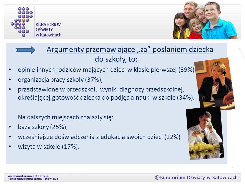 Kuratorium Oświaty w Katowicach w kwietniu 2012 r. z wykorzystaniem platformy e-dyrektor przeprowadziło na populacji 24 640 respondentów: 982 dyrektor